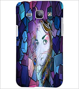 PrintDhaba Fantasy Girl D-2903 Back Case Cover for SAMSUNG GALAXY J1 (Multi-Coloured)
