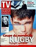 TV MAGAZINE OUEST du 02/09/2007 - GILARDI AU PAYS DES ALL BLACKS - LAPORTE - L'INTERVIEW - COUPE DU MONDE DE RUGBY - FABIEN PELOUS