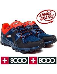 + 8000Pantalón torsu–Botas de senderismo, hombre, Torsu, gris oscuro, talla 42