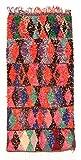 Trendcarpet Tappeto Berberi dal Marocco Boucherouite 260 x 120 cm