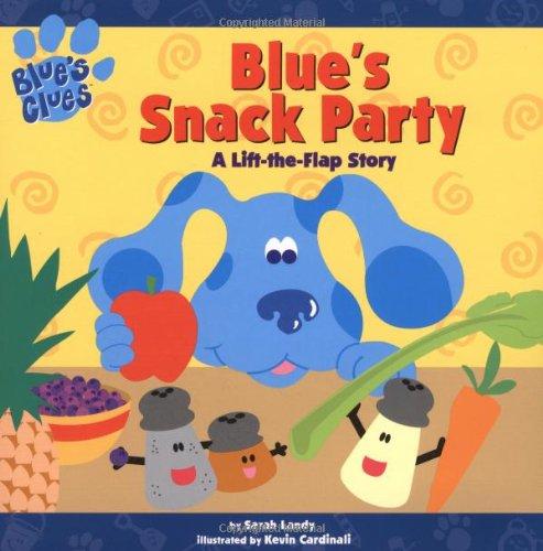 Blue's Snack Party: A Lift-the-flap Story (Blue's Clues (Simon & Schuster Paperback)) (Blues Clues Halloween)