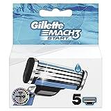 Gillette Mach3 Start Rasierklingen für Männer, 5Stück