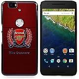 Funda/Stuss carcasa rígida del Arsenal de fútbol - - - Huawei Google Nexus 6 P