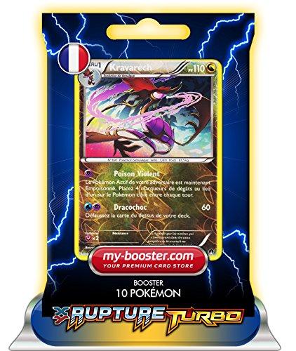 KRAVARECH holo reverse 86/122 110PV XY09 RUPTURE TURBO - Booster de 10 cartes Pokemon francaises my-booster