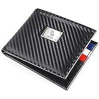 Otaku Carbon Fiber Edition Wallet | Leather wallet for men | Ultra-Light Weight Technology | Racing Wallet | Black