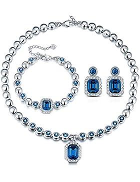 T400 Jewelers Damen Schmuck-Set Swarovski