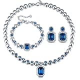 T400 Jewelers Damen Schmuck-Set Swarovski