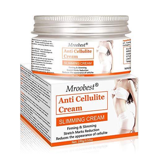 Cellulite Creme, Anti Cellulite, Anti Cellulite Creme, Slimming Cream, aktiviert die Haut zur Verbesserung der Hautkontur, Hilfe Bei Orangenhaut und Cellulitis - 100 ML