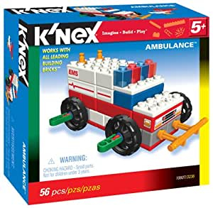 k 39 nex knex ambulance jeux de construction jeux et jouets. Black Bedroom Furniture Sets. Home Design Ideas