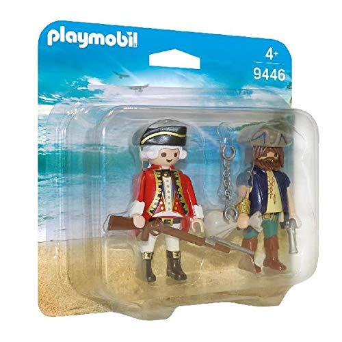 Playmobil- Pirata y Soldado Juguete, (geobra Brandstätter 9446)