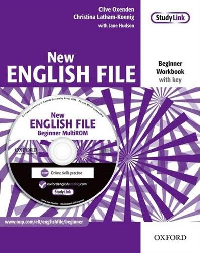 New English File Beginner : Workbook with Answers and Multirom pack