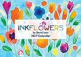 2017 Flores de tinta Calendario David Lyon (Calendario)