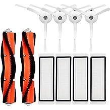 Cepillos Y Filtros Kit Set de cepillos principales para barredora automática 4 cepillos laterales 4 filtros