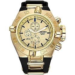 Herren Uhren Mode Silikon Armbanduhr