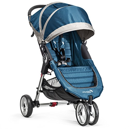 Baby Jogger City Mini Single Stroller Teal/Gray