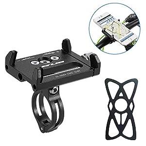 51Fin9gfQ8L. SS300 HOOMBOOM Porta Telefono Bici GUB Mountian Bici Telefono Montare Universale Regolabile Bicicletta Cellulare GPS Culla…