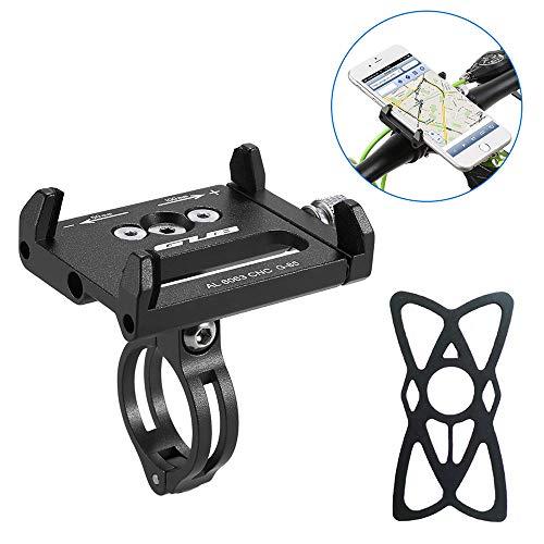 HOOMBOOM Porta Telefono Bici GUB Mountian Bici Telefono Montare Universale Regolabile Bicicletta Cellulare GPS Culla Morsetto