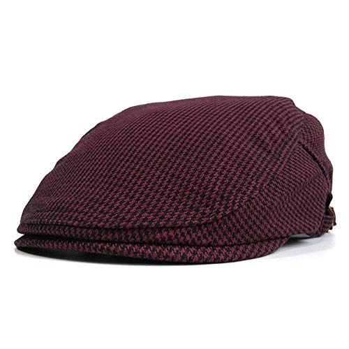 6d2672a6 Fasbys Embroidery Flat Cap Cabbie Gatsby Ivy Irish Hunting Newsboy Hat  Stretch One Size Fit (
