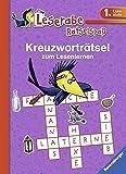 Kreuzworträtsel zum Lesenlernen (1. Lesestufe), lila (Leserabe - Rätselspaß)