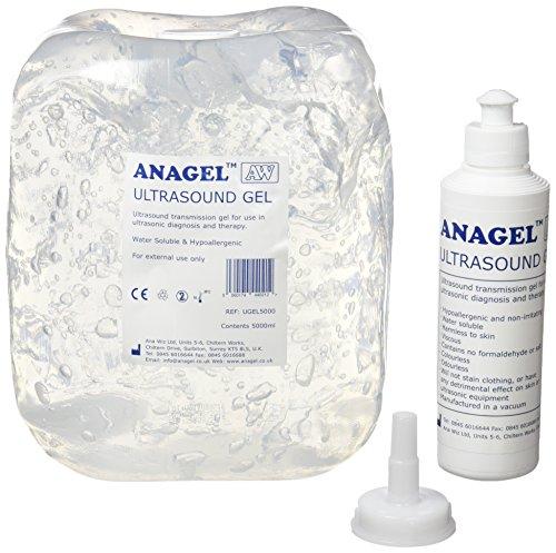 anagel - gel per ultrasuoni, contenitore da 5 l