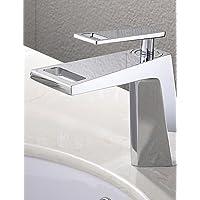 XX&GX Montaggio su piattaforma Single Handle un foro in Cromo Lavandino rubinetto del bagno