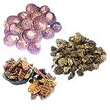 NPRC Reetha, Amla, Shikakai (Raw Herb) Natural Form Combo Pack (300 Grams)