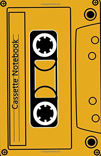 Cassette Notebook: Blank A5 Notebook - Cream Paper, A5 Size (5.5 x 8.5 inches), 100 pages (50 sheets)
