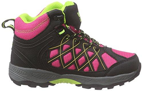 Lico - Terrain, Scarpe da escursionismo Bambina Rosa (Pink/schwarz/lemon)