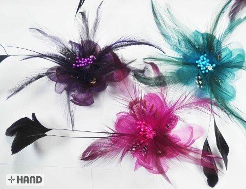 Nr. 6süßes Blume Kopfschmuck/Jacke, Kleid Pin Party und Festivals, sortiert, Set 3 (Pins Party Bridal)