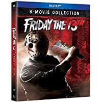 Friday The 13th The Ultimate Collection Bluray 1-8 Region Free