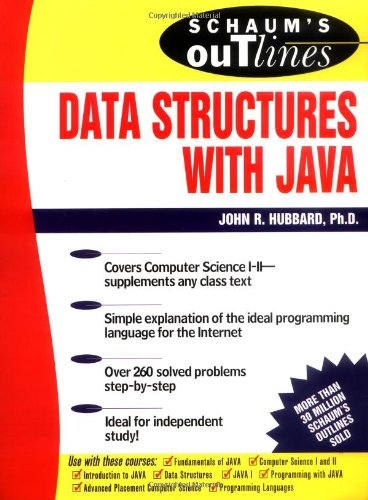 Schaum's Outline of Data Structures with Java por John R. Hubbard