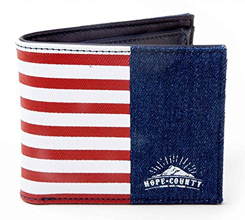 Far Cry 5 Brieftasche Hope County Logo Nue offiziell PS4 Xbox Bifold
