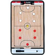 pure2i mprove Tabla de entrenamiento Indoor Soccer, wei & szlig/Beige/Negro, 35x 22cm