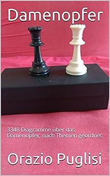Damenopfer: 3348 Diagramme über das Damenopfer, nach Themen geordnet. (German Edition) par [Puglisi, Orazio]