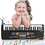 RenFox Keyboard 49 Tasten Einsteiger Digital Piano, Musik Klaviertastatur f¨¹r Kinder und Einsteiger Geschenk