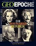 Image de GEO EPOCHE Nr. 27: Die Weimarer Republik. Drama und Magie der ersten deutschen Demokratie