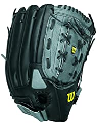 "Wilson Sporting Goods Co. A360 14"" Right-hand baseball glove Outfield 14"" Negro - guantes de béisbol"