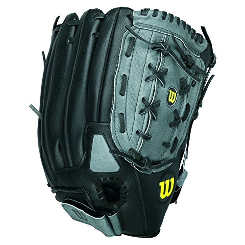 WILSON Handschuhe A360 SP, Grey/Black, 14, A360 SP