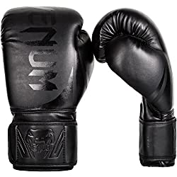 Venum Erwachsene Boxhandschuhe Challenger 2.0 Schwarz Matt, 14 oz