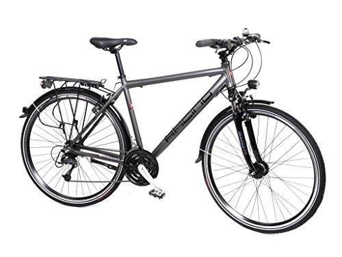 "28"" Zoll Alu Fahrrad Trekking Herren Rad Shimano Deore 24 Gang Nabendynamo"