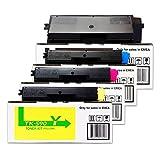 Kyocera/Mita FS-C 5250 DN (TK-590 K / 1T02KV0NL0 / TK-590 C 1T02KVCNL0 / TK-590 M / 1T02KVBNL0 / TK-590 Y / 1T02KVANL0) / - original Toner Set/schwarz 7.000 Seiten/cyan magenta gelb je 5.000 Seiten