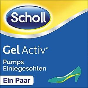 Scholl Gel Activ Einlegesohlen Pumps und Schuhe mit Absätzen bis 5,5cm, 1 Paar