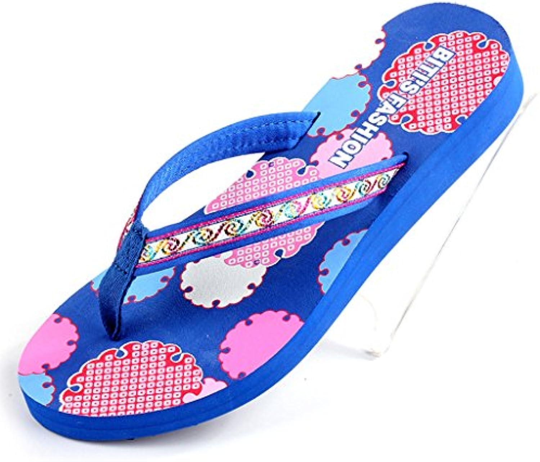 Sandalias XW Zapatillas de verano Verano Mujer Tela Superior Clip Toe Zapatillas Zapatos Planos mujeres chicas...