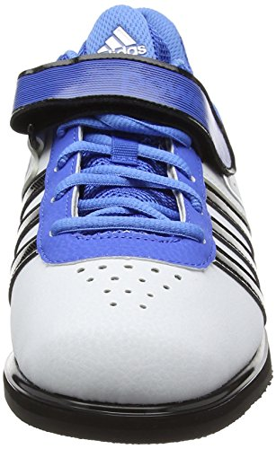adidas  Powerlift2, Multi-sports - Intérieur Unisexe adulte Blanc (White/Core Black/Bright Royal)