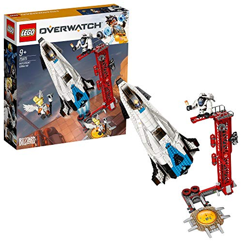 LEGO - Overwatch Observatorio: Gibraltar Set de construcción con Cohete Espacial de Juguete inspirado en el videojuego, Novedad 2019 (75975)
