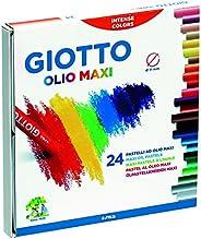 Giotto pastelli ad olio in astuccio da 24 colori