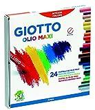 Fila Giotto pastels à l'huile, Lot de 24