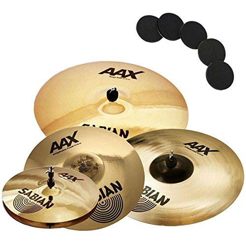 Sabian AAX Performance Beckenset + KEEPDRUM Damper Pads