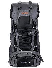 Minetom 75L Mochilas Impermeable Viaje Morral Deporte Sport Multifunción Al Aire Libre Bolsa Plegable Trekking Viajes