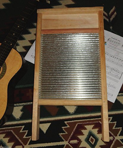NEW Tallador Musical Acoustic Percussion Musicians Washboard Size 23 inches -WASHBOARD 23 INCHES by SOLID PINE WOOD